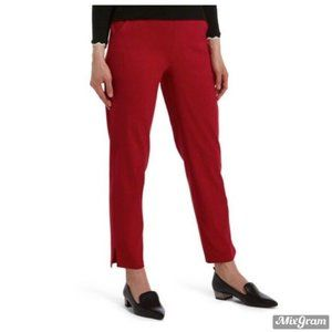 HUE Women's Leggings Small Red Temp Tech Trouser